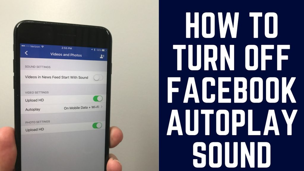 HOW TO STOP FACEBOOK AUTO PLAYING VIDEO AND SOUND