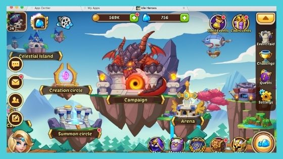 Idle Heroes Download