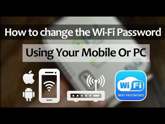 Change WI-Fi Password